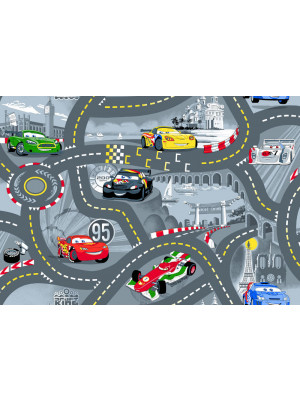 Tapis circuit Cars 2 Disney