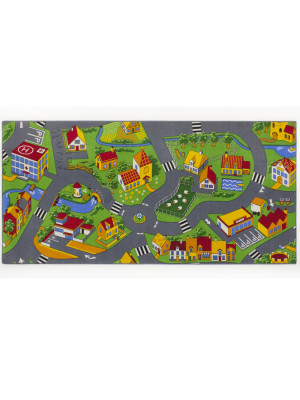 Tapis circuit Little Village -Tapis : 140 x 200 cm