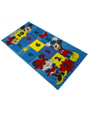 Tapis Marelle Mickey et Minnie Disney