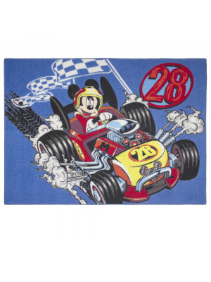 Tapis Mickey Mouse Racer Disney