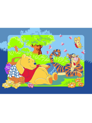 Tapis Winnie l'ourson Printemps Disney