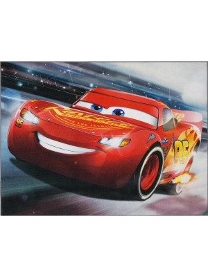 Tapis Cars flash mcqueen dérapage - Disney 95 x 125 cm