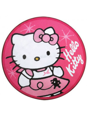 Tapis rond Hello Kitty