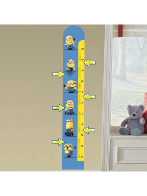 Stickers geant Toise Les Minions