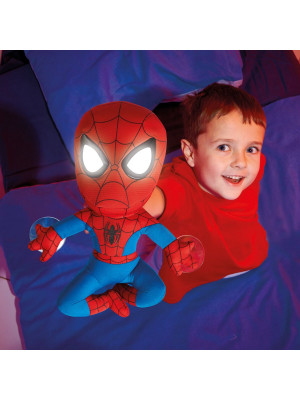 Peluche Veilleuse Spiderman Marvel