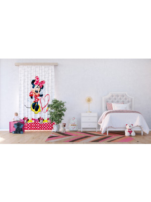 Voilage - Disney Minnie Mouse 140 cm x 245 cm