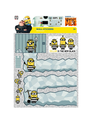 Stickers géant Oops Les Minions