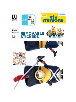 Stickers géant France Les Minions