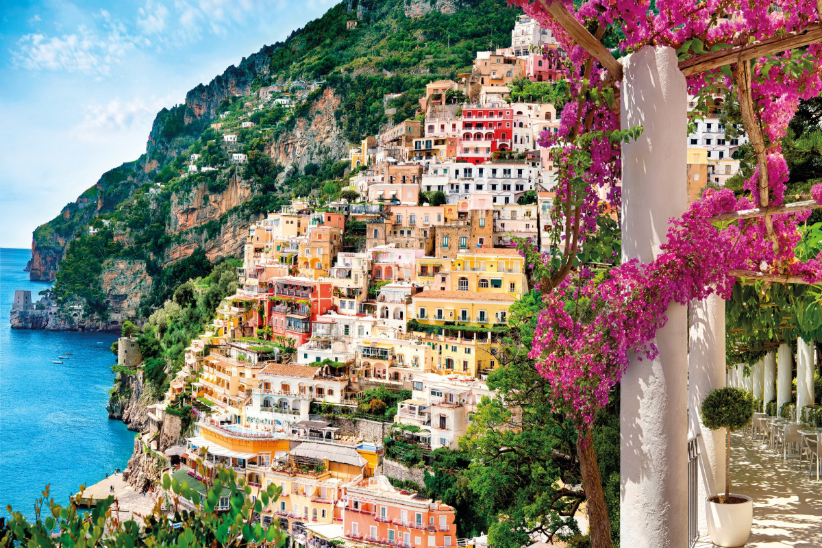 Photo murale - 368 x 248 cm - panoramique intissé - Positano