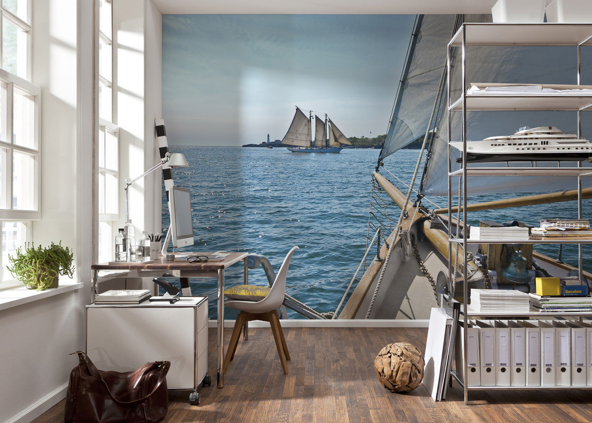 Sailing Photo murale - 368 x 254 cm