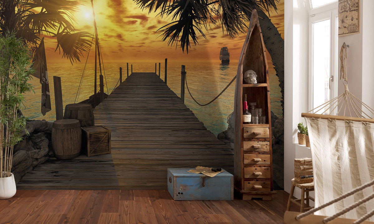 Treasure Island Photo murale - 368 x 254 cm