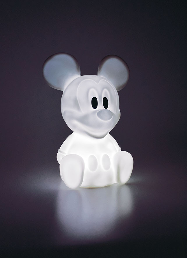 Veilleuse LED blanc Mickey Mouse 7 couleurs Disney