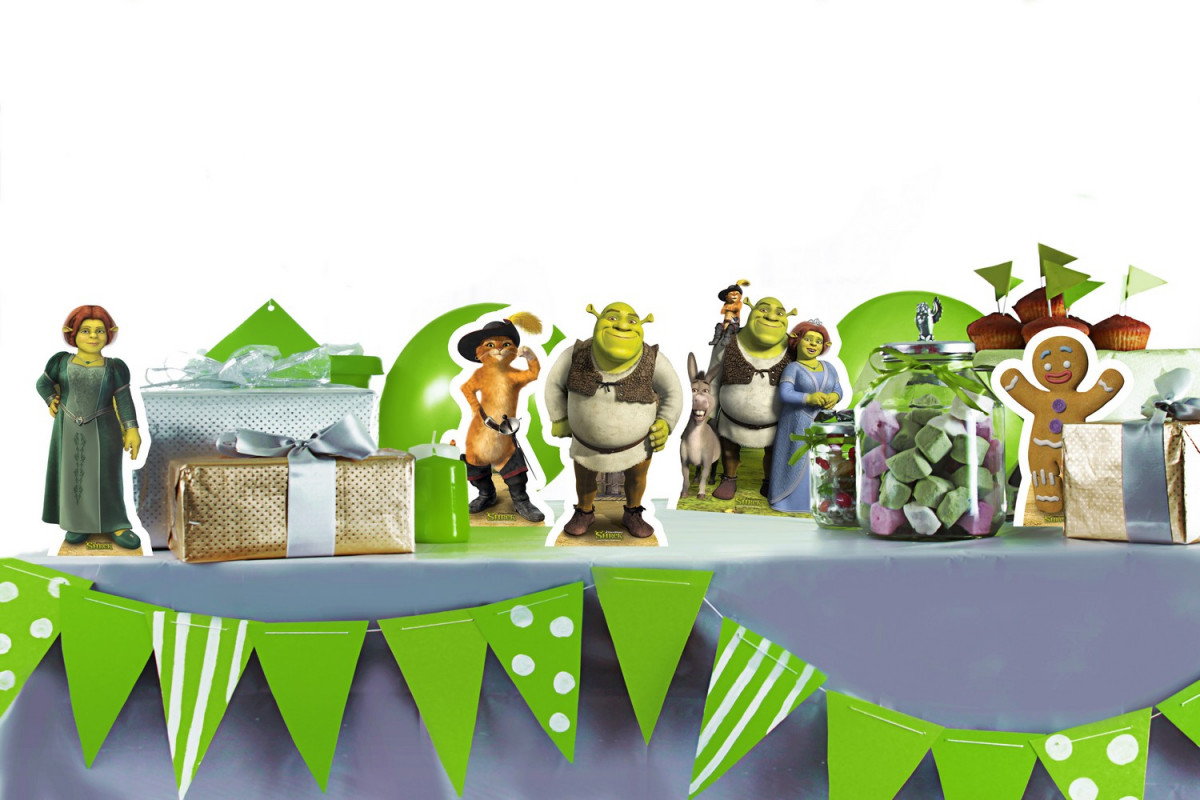 Mini-Figurines en carton DREAMWORKS SHREK  26  cm