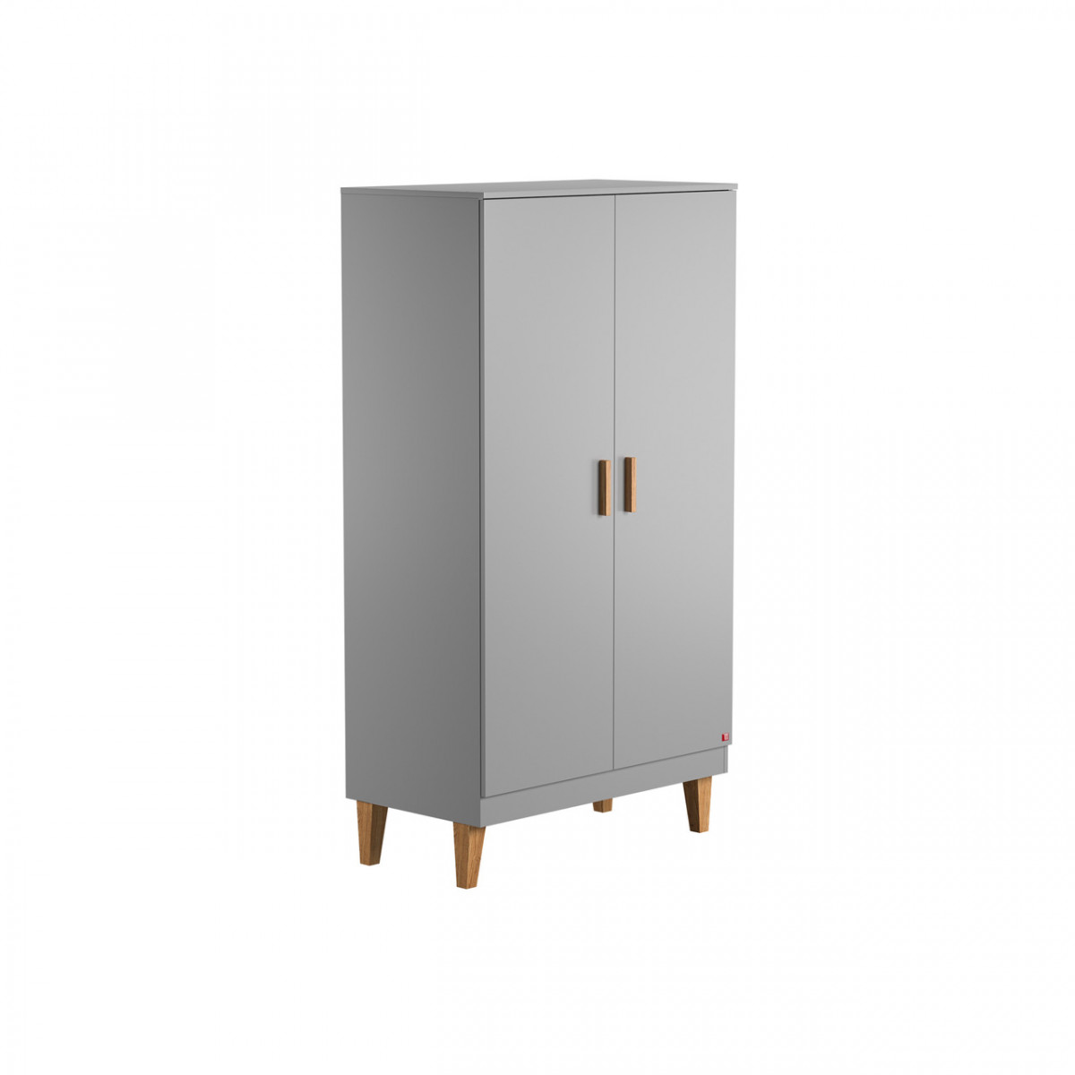 armoire 2 porte collection lounge grise VOX