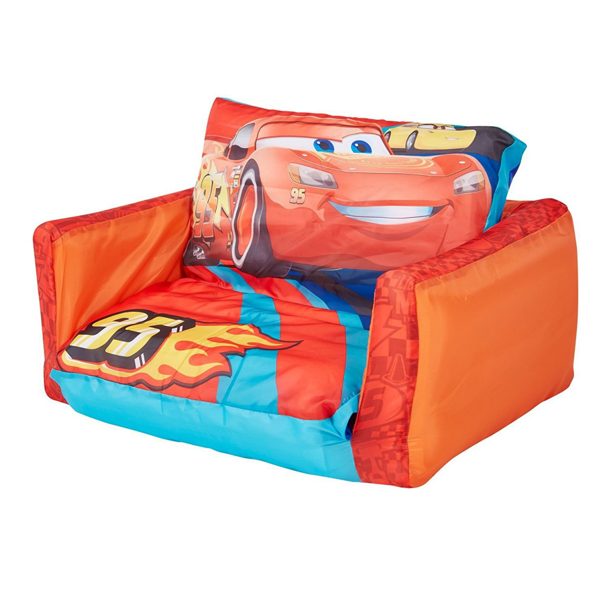 Canape convertible gonflable Cars Disney