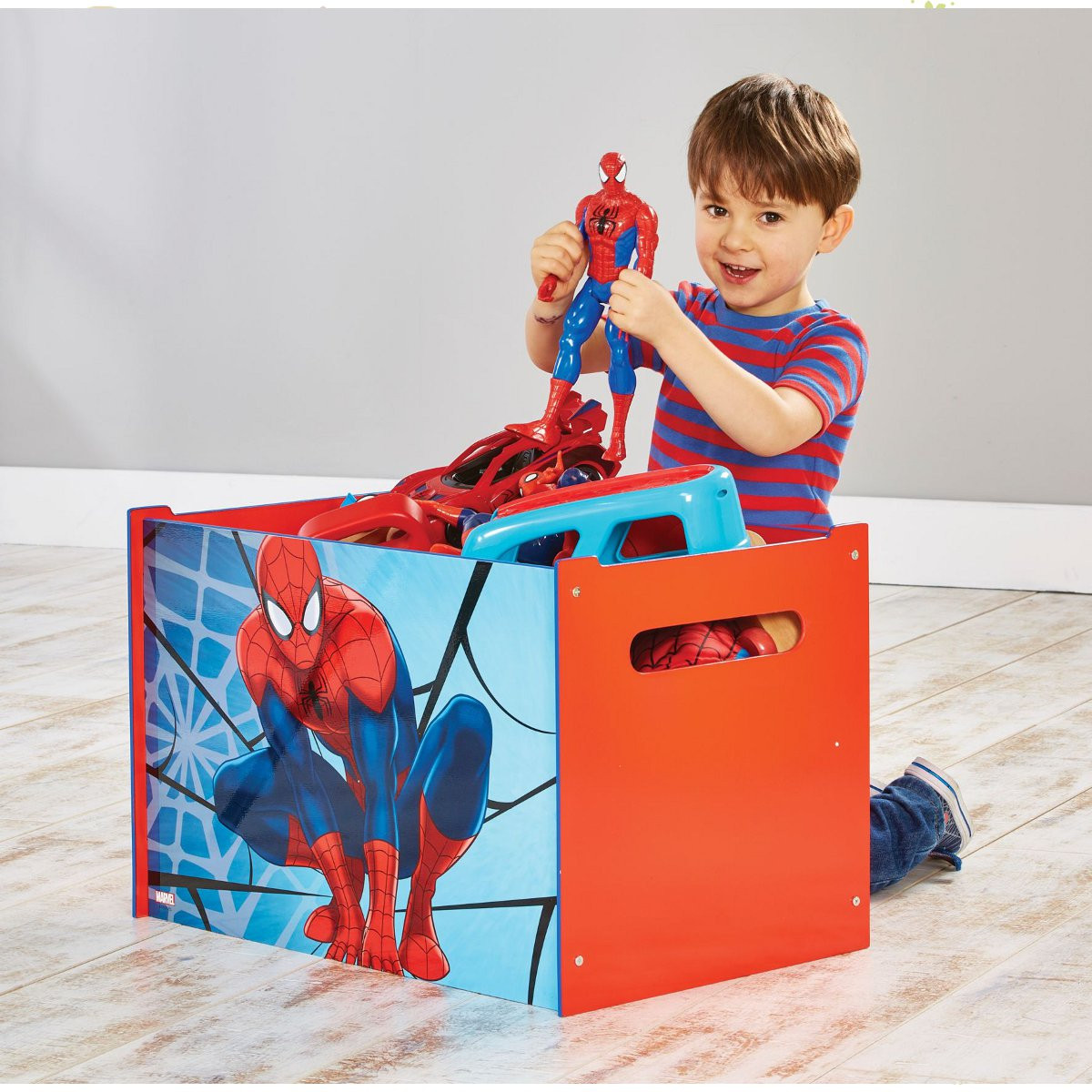 Coffre à jouets Spiderman Marvel