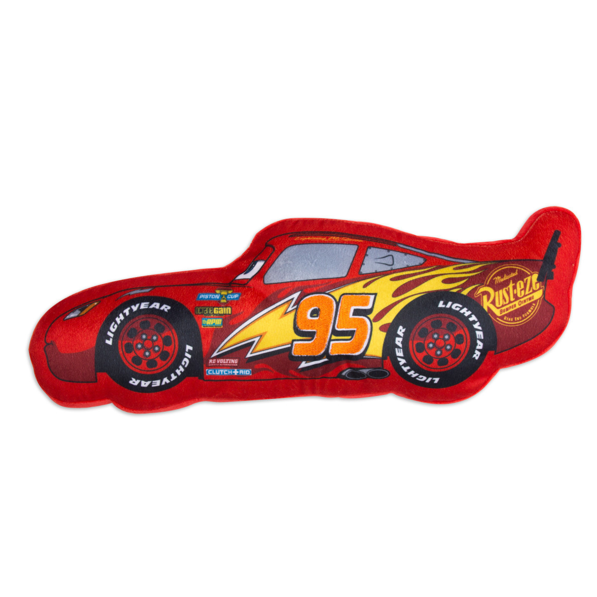 Coussin en forme de flash Mcqueen cars3 disney