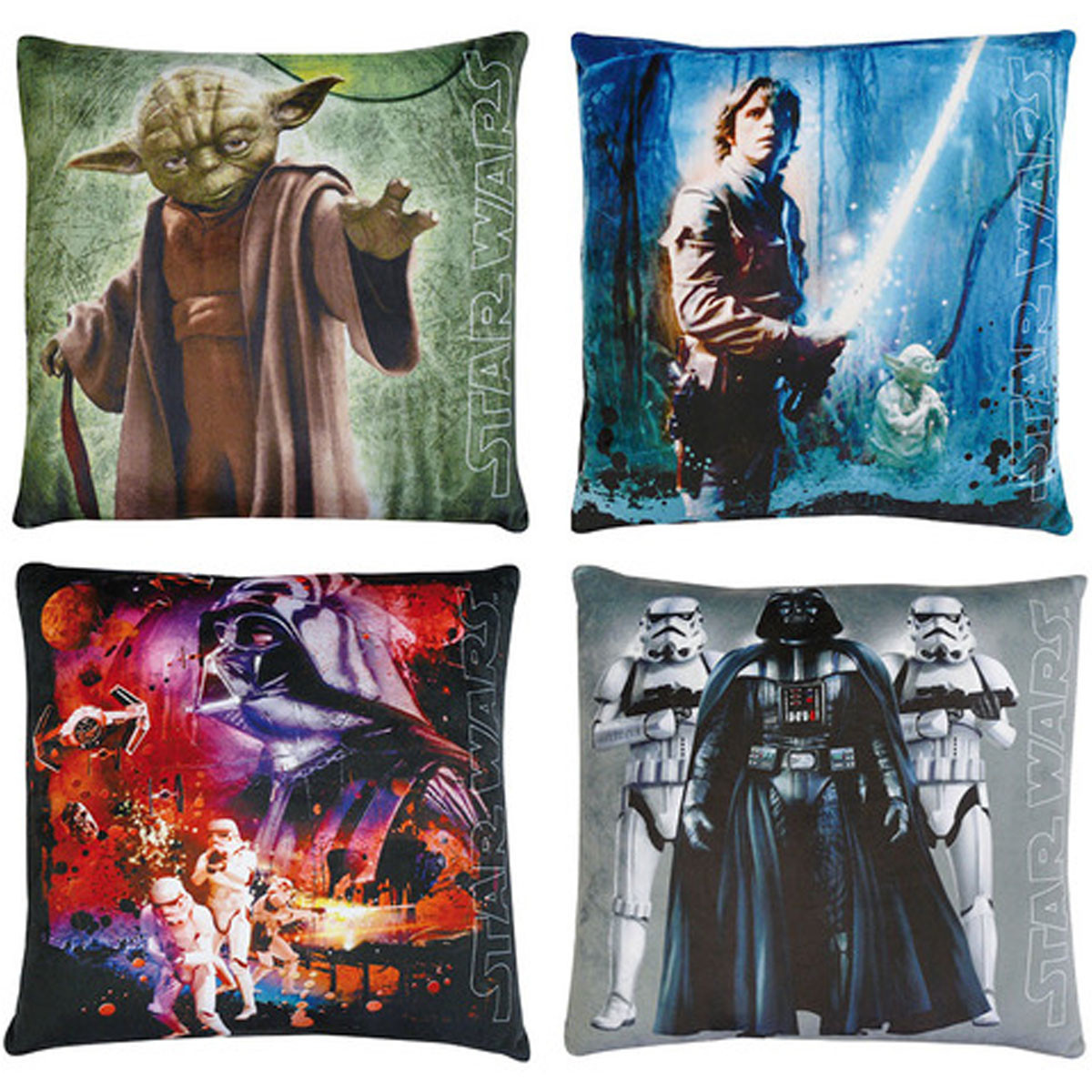 Lot de 4 Coussin Star Wars