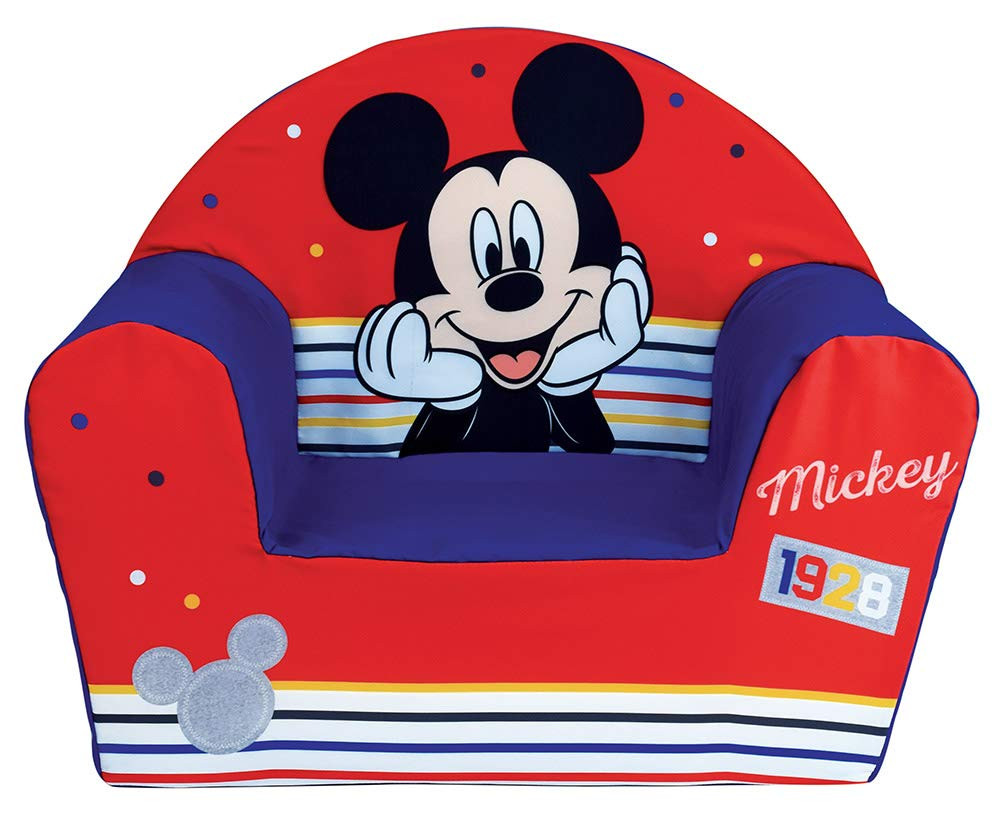 Fauteuil Club mousse Mickey Mouse Disney