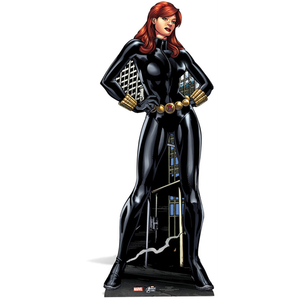 Figurine en carton Black Widow Marvel