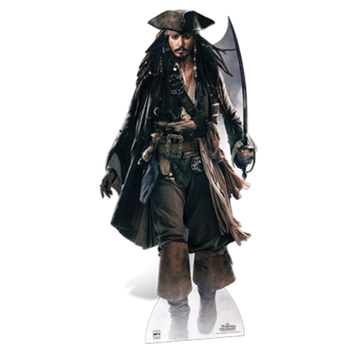 Figurine en carton Captain Jack Sparrow Disney