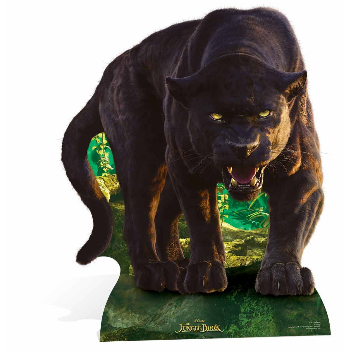 Figurine en carton Bagheera Le Livre de la Jungle Disney