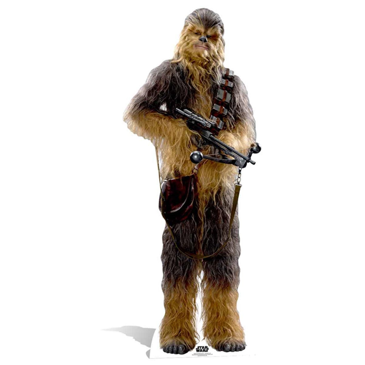 Figurine en carton taille réelle Chewbacca EP7 Star Wars