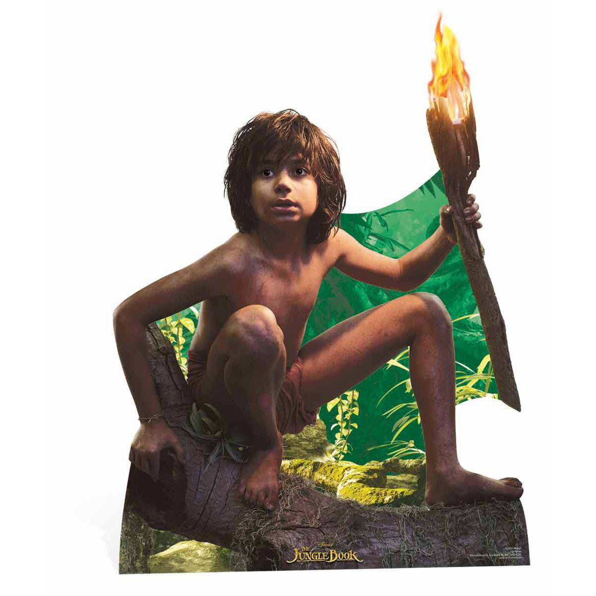 Figurine en carton Mowgli Le Livre de la Jungle Disney