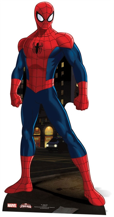 Figurine en carton Spider-man Marvel