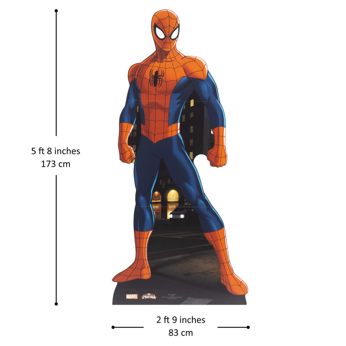 Figurine en carton Spider-man Marvel plan