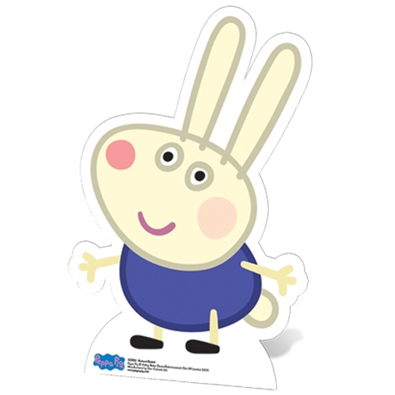 Figurine en carton Richard Lapin Peppa Pig