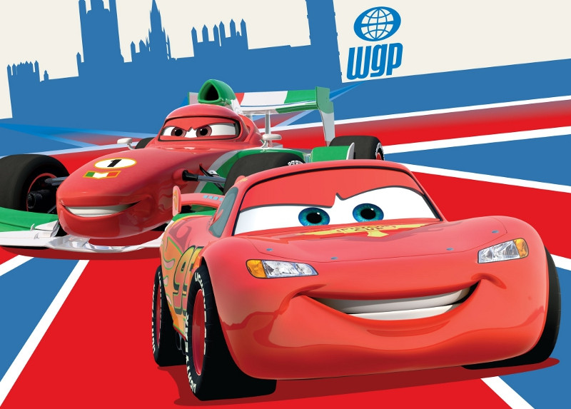 Tapis Flash et Francesco Cars Disney