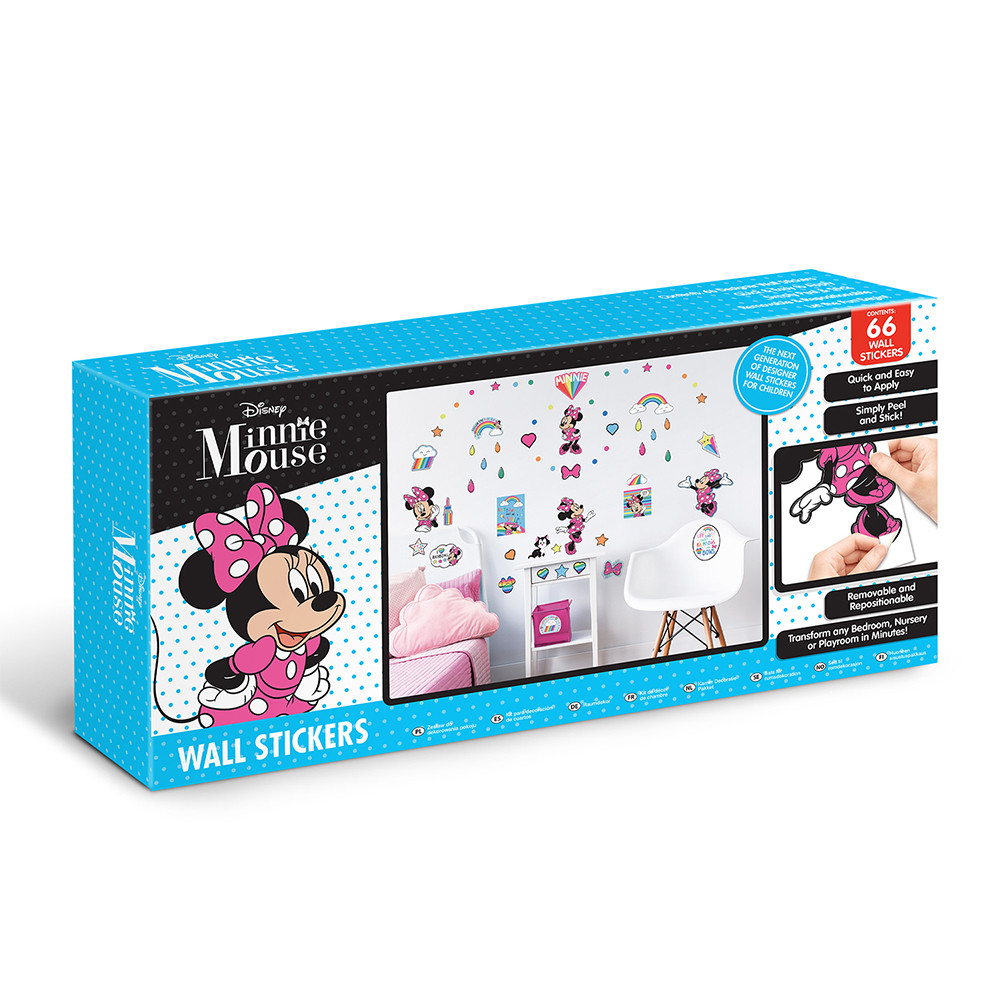 66 Stickers Minnie Mouse Disney