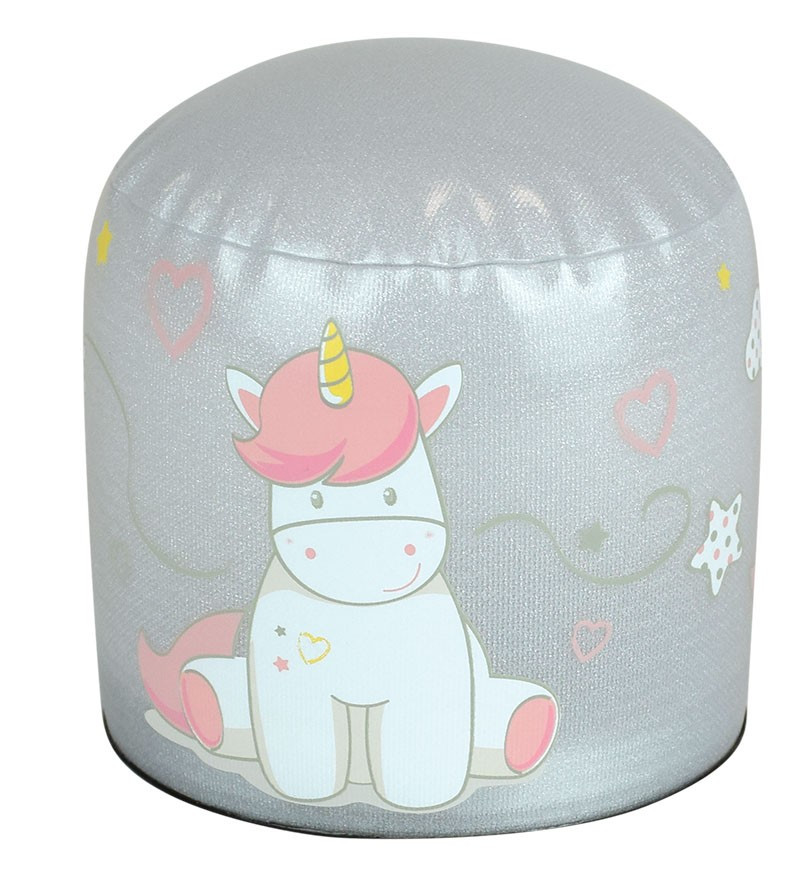 lampe gonflable LED licorne assise
