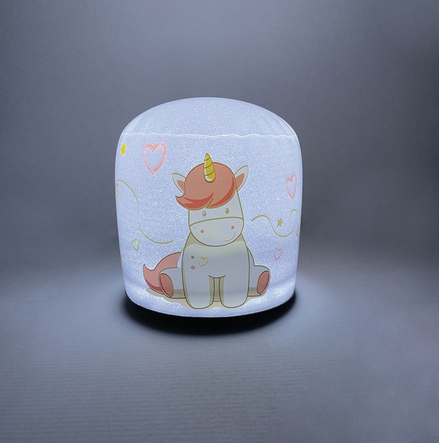 lampe gonflable LED licorne lampe allume