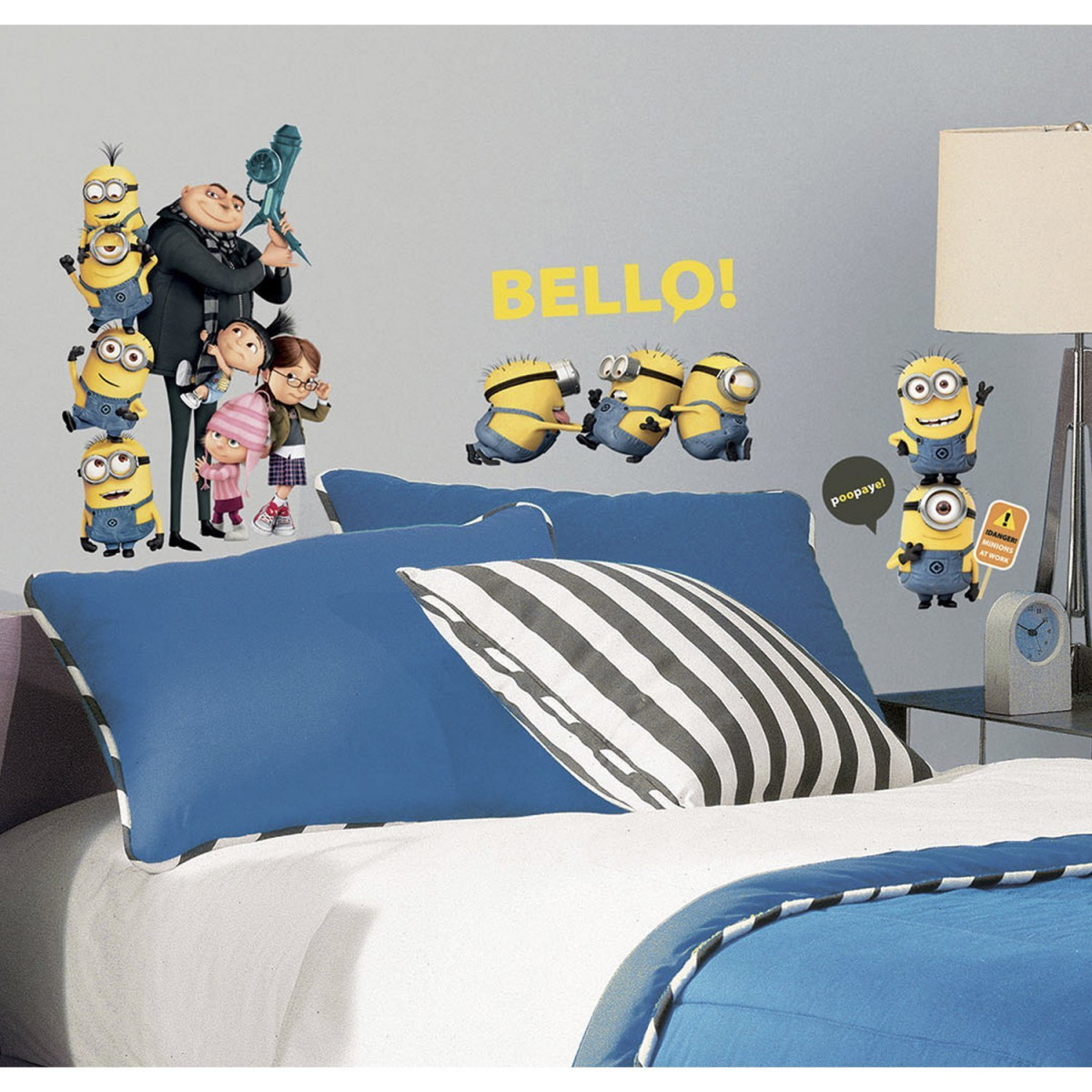 31 stickers repositionnables Les Minions