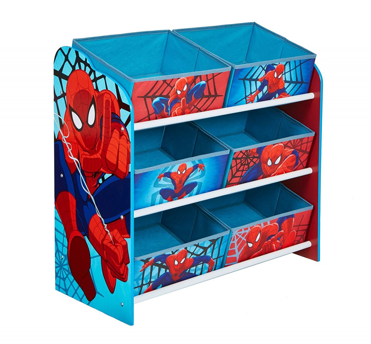 Meuble à 6 paniers Spiderman Marvel