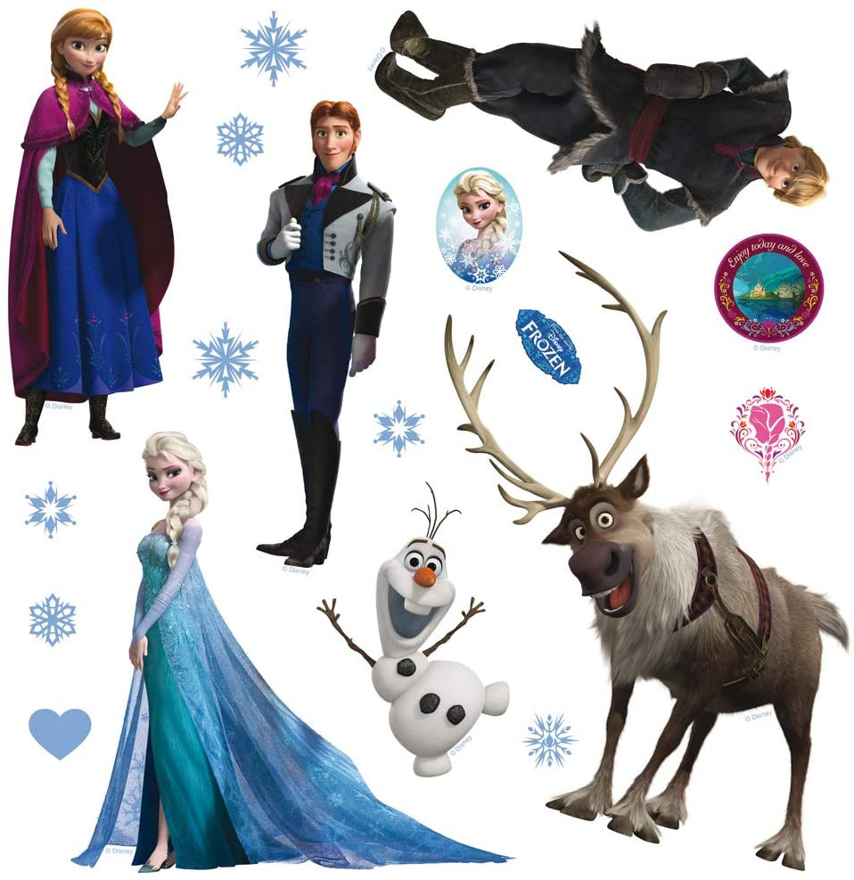 Minis Stickers Disney La Reine des Neiges