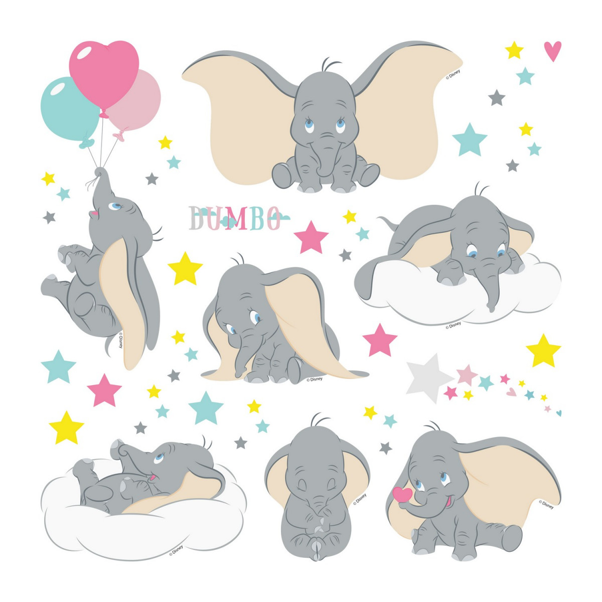 Minis Stickers Disney Dumbo