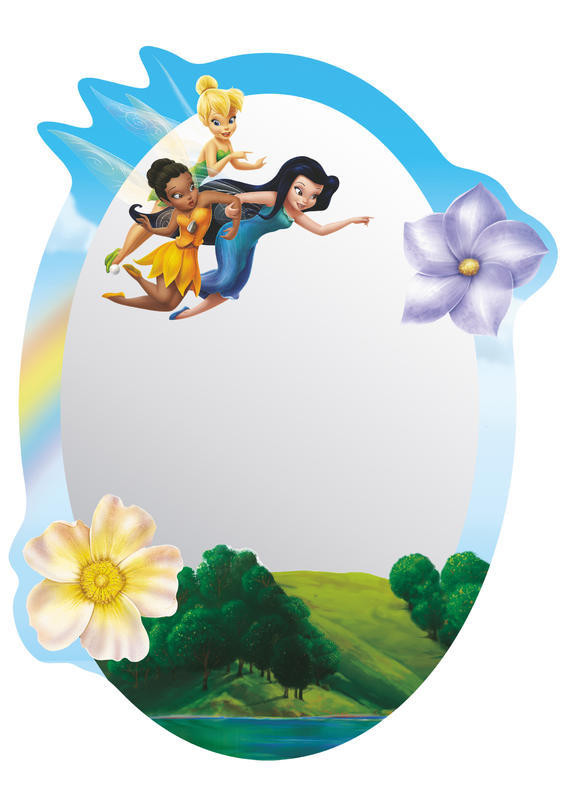 Miroir Fée Clochette Disney Fairies