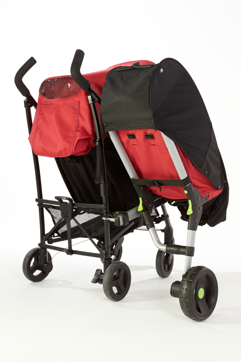 Capote pare-soleil pour sidecar Buggypod Lite Revelo