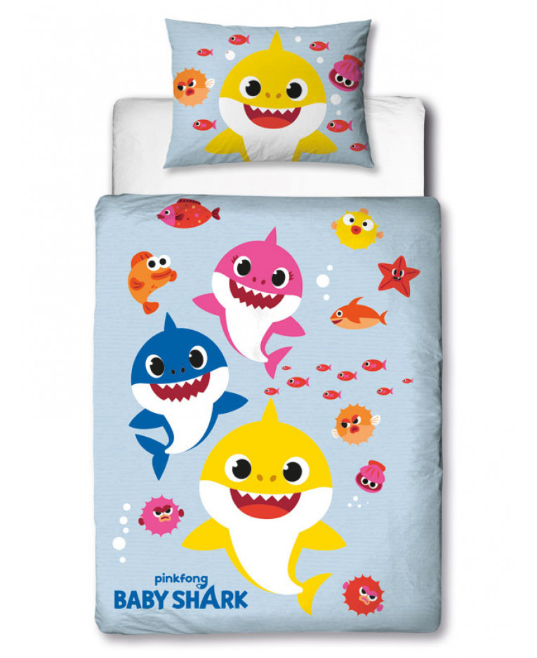Parure de lit Junior Baby Shark avant