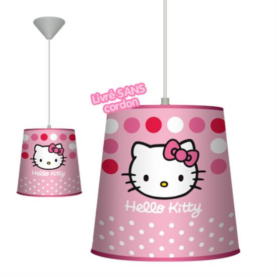 Suspension rose Hello Kitty