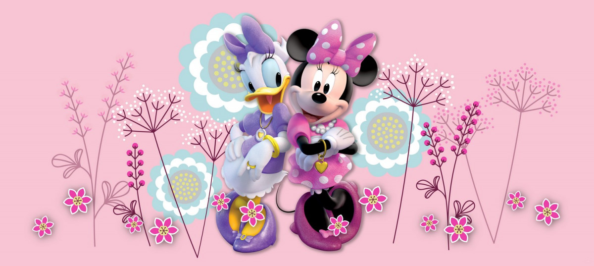 Poster géant Disney Minnie Mouse et Daisy Duck