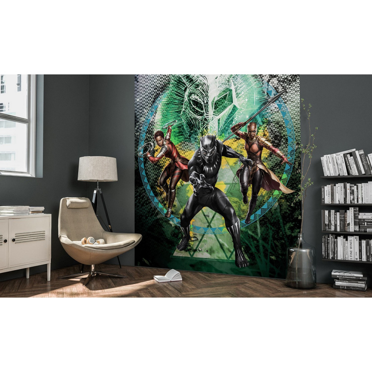 Black Panther Poster XXL mise en situation