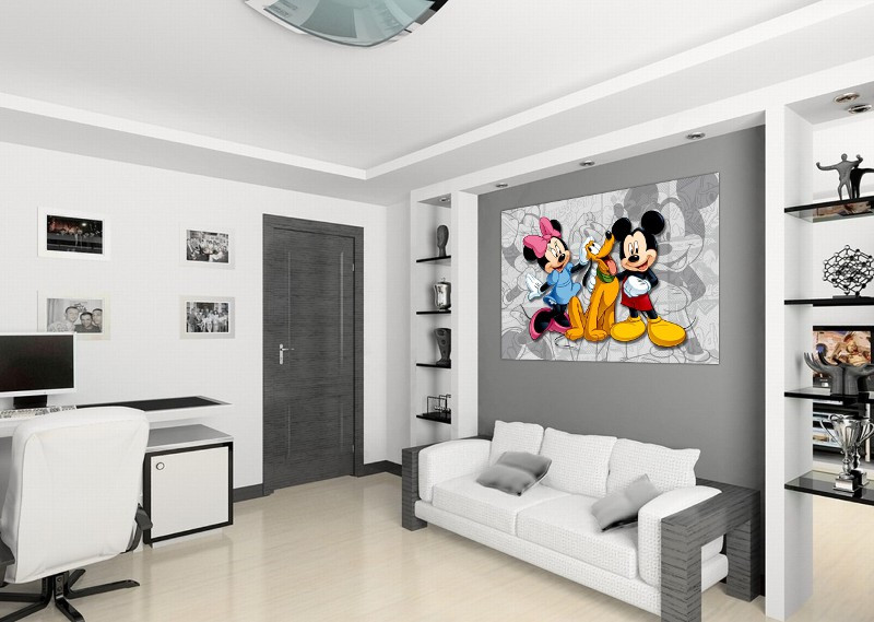 Poster XXL Mickey Minnie Mouse Disney 160X115 CM