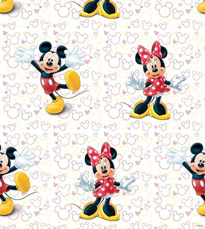 Rouleau Papier peint Mickey & Minnie Night Out Disney