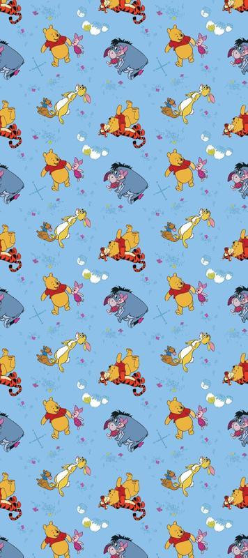 Rouleau Papier peint Winnie l'Ourson Rise & Shine Disney