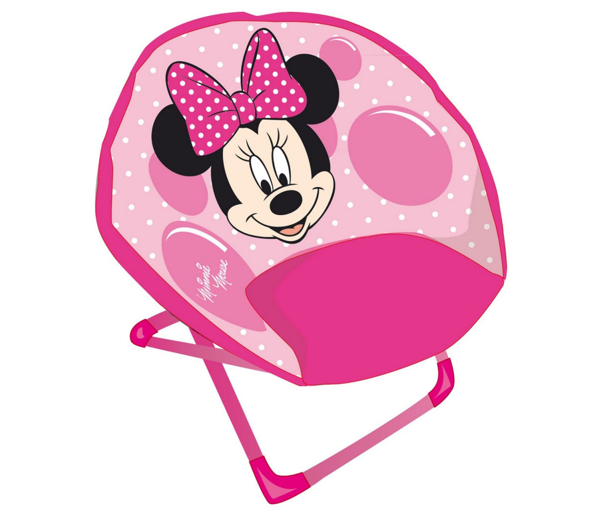 Siège lune Rose Minnie Mouse Disney
