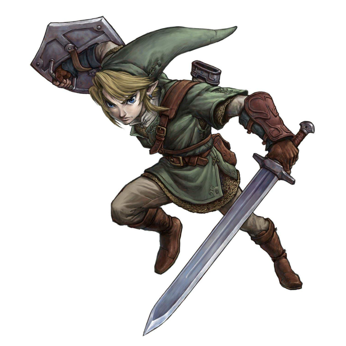 Sticker géant The Legend of Zelda Twilight Princess 87 x 98 cm